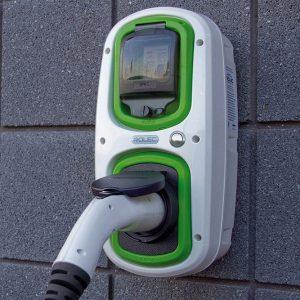 Wallpod EV standard: Rolec Wallpod OLEV homecharge unit