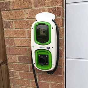 Rolec Wallpod charge point, Scothern