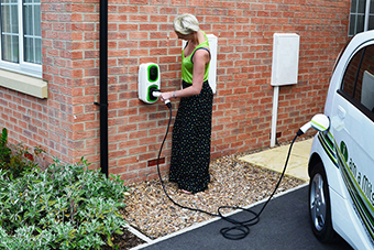 EV Camel EV home charging points
