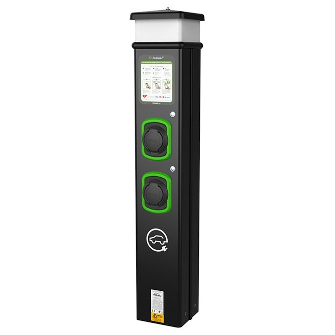 Rolec basiccharge, EV Camel robust workplace EV charging