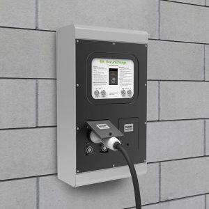 Rolec SecurichargeEV; robust EV charge point for car parks by EV Camel