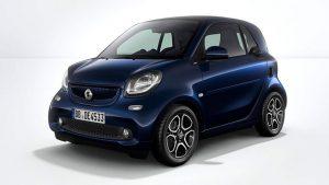 smart fortwo: smart EV change