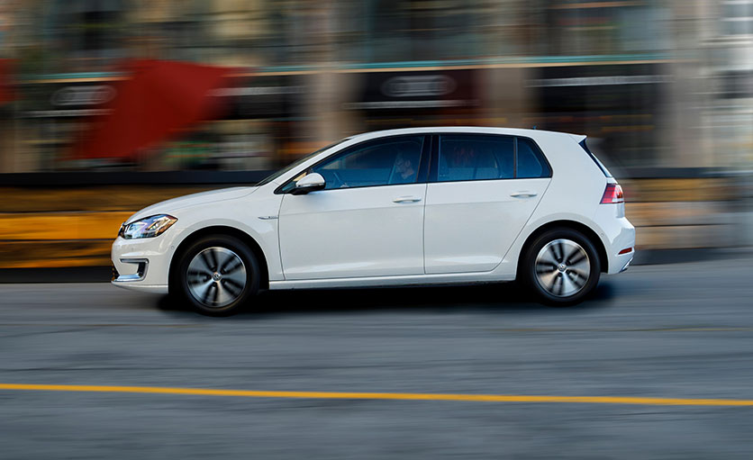 Vw E Golf Electric Car Review