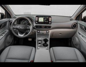 Hyundai Kona Electric Interior by EV Camel