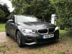 BMW 330e M Sport Saloon test drive with EV Camel